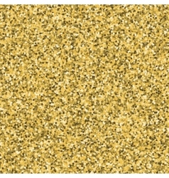 Abstract gold glitter pattern with round dotted vector