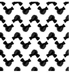 Brotherhood handshake pattern seamless vector