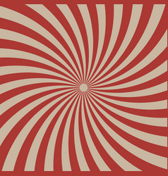 circus graphic radius effects red retro color vector image