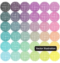 Color palette background vector