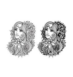 fairy princess vector image