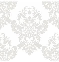 Floral damask ornament pattern vector