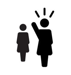 leader icon male public speaker person symbol for vector image