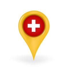 Location Switzerland vector image