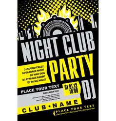 Night club vector