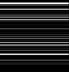 Straight lines with random thickness horizontally vector