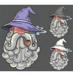 Wizard portrait 2 vector
