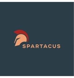 Spartak Roman helmet logos icon qualitative vector image