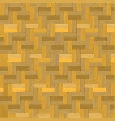 wooden weave bamboo basket texture background vector image