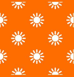 sun pattern seamless vector image vector image