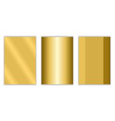Gold gradient background texture metallic vector