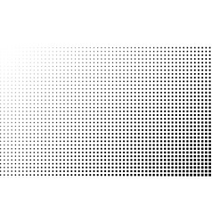 halftone gradient background square dots vector image