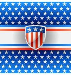 Patriotic background vector