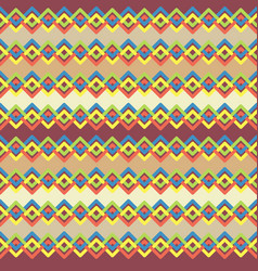 Pattern with colorful abstract lines vector