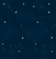 space cartoon background for a game vector image