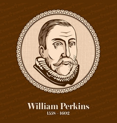 William perkins was an influential english cleric vector