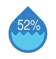 Water infographics Information Graphics vector image