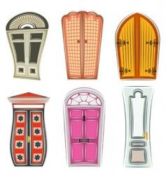 doors vector image vector image