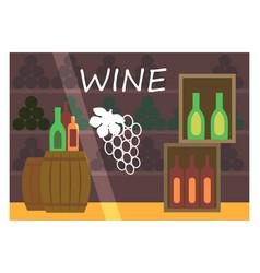 flat design restaurant shop facade icon store vector image