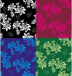 floral background wallpaper vector image