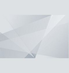 abstract white gray and black color overlap vector image