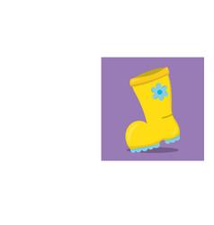 April showers boots 12 vector