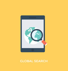 Global search vector