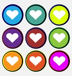 Heart Love vector image