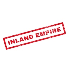 Inland Empire Rubber Stamp vector