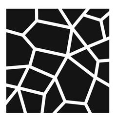 Paving asphalt icon simple style vector