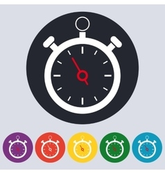 Stock Linear icon stopwatch vector image