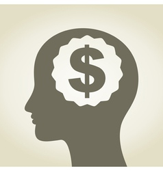 Business a head3 vector image