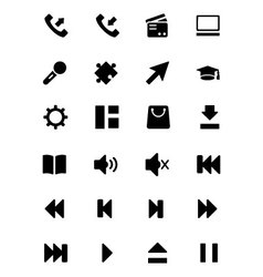 Universal Web and Mobile Icons 3 vector image
