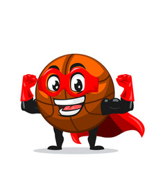 basket ball mascot or character vector image