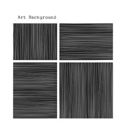 Black and white striped background vector