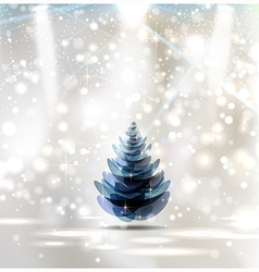 Christmas Stage vector image
