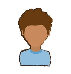 People young man icon image vector