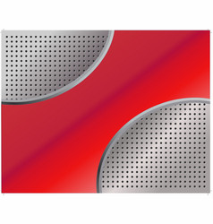 Red metallic abstract background 1 vector