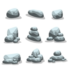 Rock style art of silhouette vector
