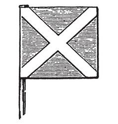 Scotland st andrews banner vintage vector