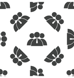 User group pattern vector image