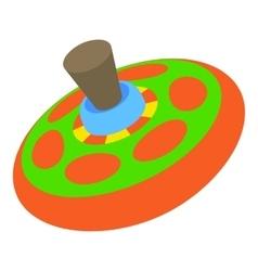 Children toy whirligig icon cartoon style vector image