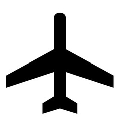 Air Craft Symbol vector image