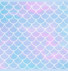 Background with fish scale and shining vector