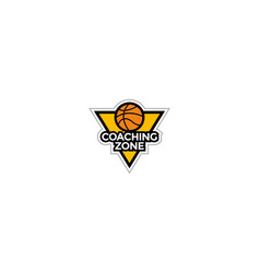 Basket ball coaching template vector