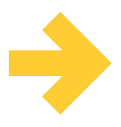 Flat arrow icon pointer sign navigation button vector