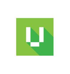 Initial v logo design v letter icon vector