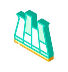 Modular pva cover floor isometric icon vector