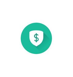 money protect icon vector image
