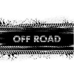 off-road vehicle motorsport race grunge background vector image